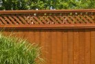 Fountain Privacy fencing 3